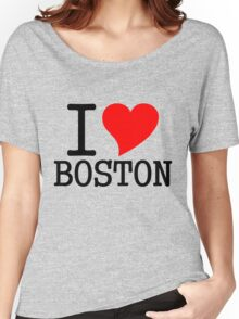 I Heart Boston Women's Relaxed Fit T-Shirt