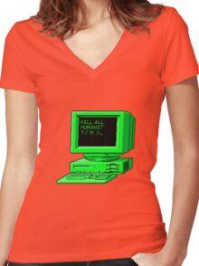 Kill Command Women's Fitted V-Neck T-Shirt