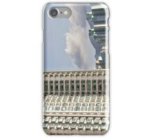 Hong Kong living - apartment blocks and nature side by side iPhone Case/Skin