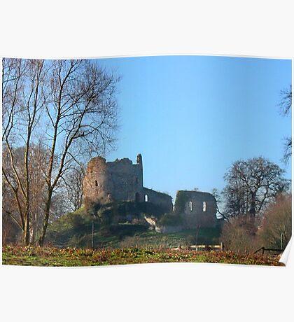 Hawarden Castle N.Wales Poster