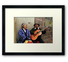People 4059 Quito, Ecuador Framed Print