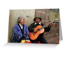 People 4059 Quito, Ecuador Greeting Card