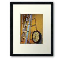 227/365 resting things Framed Print
