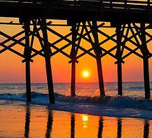 Morning Sunrise Reflections  by donaldhovis