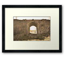 The Old Railway Bridge Framed Print