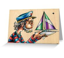 Blow Your Boat Greeting Card