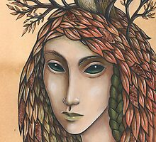 The Autumn Cloak by NadiaTurner
