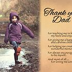 Father&#x27;s Day - Great Childhood (Card) by Tracy Friesen