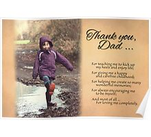 Father's Day - Great Childhood (Card) Poster