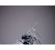 Smashing glass Photographic Print