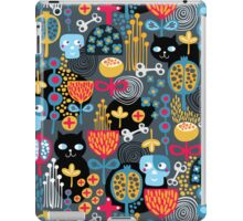 Funny cemetery. iPad Case/Skin