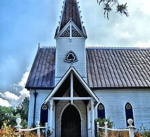 Edythe Bates Old Chapel, Round Top, Texas by SuddenJim