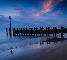 Bridlington Groyne North Bay by Angie Morton