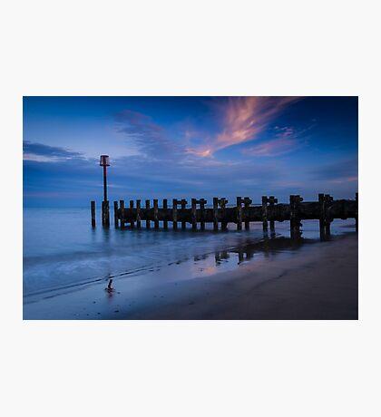 Bridlington Groyne North Bay Photographic Print