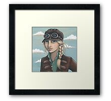 Sky Captain Framed Print