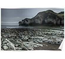 Flamborough Head Cove Poster