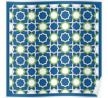 Arabesque Pattern Poster