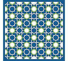 Arabesque Pattern Photographic Print