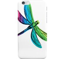 Rainbow Dragonfly iPhone Case/Skin