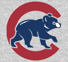 chicago cubs One Piece - Long Sleeve