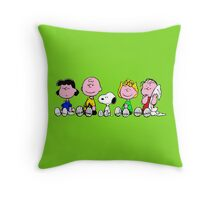peanuts! Throw Pillow