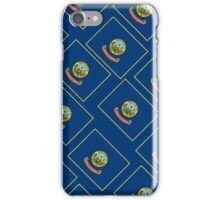 Smartphone Case - State Flag of Idaho - Patchwork Diagonal iPhone Case/Skin