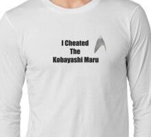 I Cheated Long Sleeve T-Shirt