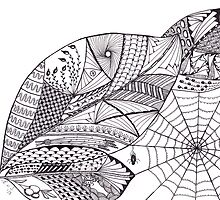Zentangle Nature by Emy van Schaik
