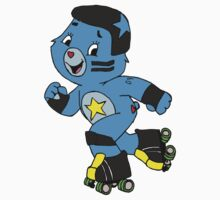 Roller Derby Care Bear (Jammer Bear) Kids Clothes