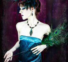 Madame Peacock by Jennifer Rhoades