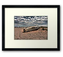 One day I will sail Framed Print