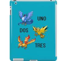 ArticUNO ZapDOS MolTRES iPad Case/Skin