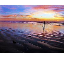 Setting Waves Photographic Print