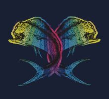 Rainbow Mahi Mahi One Piece - Long Sleeve