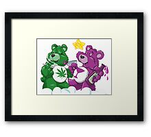 Party Bears Framed Print
