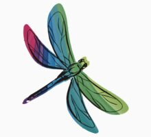Rainbow Dragonfly by pjwuebker