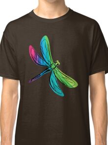 Rainbow Dragonfly Classic T-Shirt