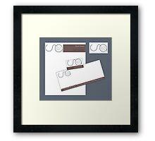 Grayson Detective Agency Framed Print