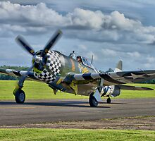 Snafu -Flying Legends 2012 - HDR by Colin J Williams Photography