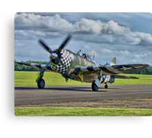 Snafu -Flying Legends 2012 - HDR Canvas Print