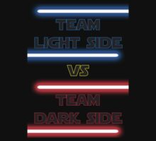 Star wars Team Light Side vs Team Dark Side by RetroGameAddict