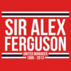 Sir Alex Ferguson by Matt Burgess