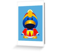 Kingly suit Greeting Card
