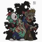 Cartoon Zombies by AngelGirl21030