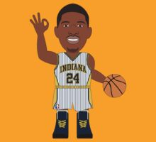 NBAToon of Paul George, player of Indiana Pacers by D4RK0