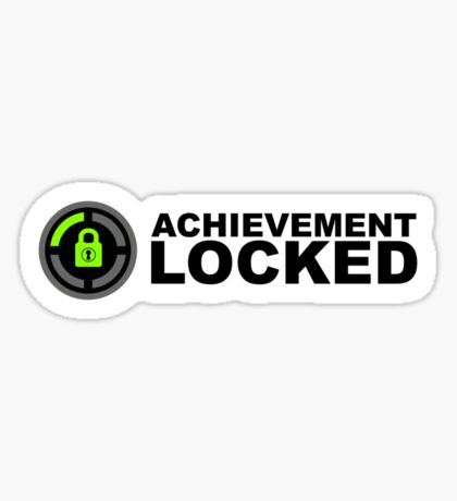 Achievement Locked Sticker