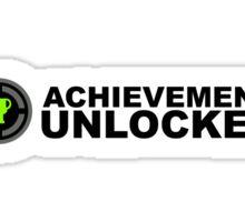 Achievement Unlocked Sticker