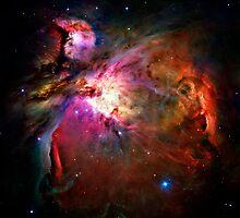 Orion Nebula by RickyBarnard