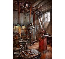 Machinist - The modern workshop  Photographic Print