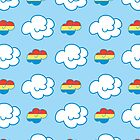 Rainbow Dash Clouds by Bogies